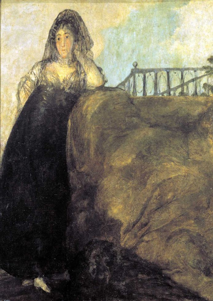 Goya, Francisco de: La Leocadia or The Seductress. Fine Art Print.  (003003)
